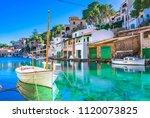 beautiful view of cala figuera  ...   Shutterstock . vector #1120073825