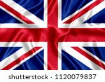 Flag of britain silk