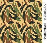 camouflage pattern background... | Shutterstock .eps vector #1120087277
