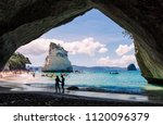 hahei  new zealand   january 5  ...   Shutterstock . vector #1120096379