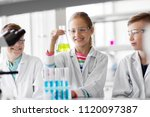 education  science and children ... | Shutterstock . vector #1120097387