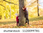 family  season and people... | Shutterstock . vector #1120099781
