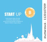 bitcoin financial system grows. ...   Shutterstock .eps vector #1120107059