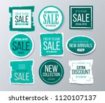 sale and discounts label ... | Shutterstock .eps vector #1120107137