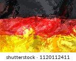 vector geometric background in...   Shutterstock .eps vector #1120112411