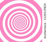 swirling radial pattern... | Shutterstock .eps vector #1120119824