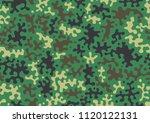 camouflage pattern background....   Shutterstock .eps vector #1120122131