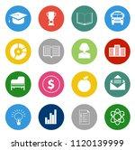 vector school   education icons ... | Shutterstock .eps vector #1120139999