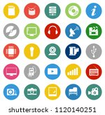 vector media devices and... | Shutterstock .eps vector #1120140251