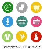 online marketing  e commerce... | Shutterstock .eps vector #1120140275