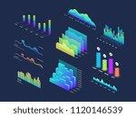 future tech 3d isometric data... | Shutterstock .eps vector #1120146539