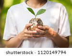 business growth up concept | Shutterstock . vector #1120149794