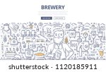 doodle vector illustration of a ... | Shutterstock .eps vector #1120185911
