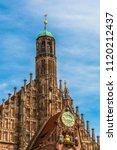 frauenkirche or church of our...   Shutterstock . vector #1120212437