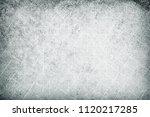 grunge grey background | Shutterstock . vector #1120217285