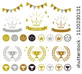 set of ranking icons   vector... | Shutterstock .eps vector #1120230131