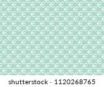 abstract geometric pattern with ... | Shutterstock .eps vector #1120268765