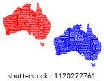 sketch australia letter text...   Shutterstock .eps vector #1120272761