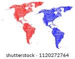 sketch america letter text...   Shutterstock .eps vector #1120272764