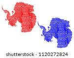 sketch antarctica letter text...   Shutterstock .eps vector #1120272824
