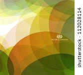 abstract web template. vector... | Shutterstock .eps vector #112028114