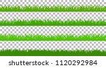 large set of fresh green spring ... | Shutterstock .eps vector #1120292984