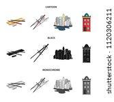 drawing accessories  metropolis ... | Shutterstock .eps vector #1120306211