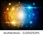 futuristic hi tech technical... | Shutterstock .eps vector #1120325291
