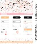 light pink  yellow vector web...