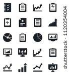 set of vector isolated black... | Shutterstock .eps vector #1120354004