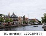 haarlem the netherlands   06 23 ...   Shutterstock . vector #1120354574