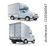 pickup truck development for... | Shutterstock .eps vector #1120360067