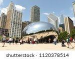 chicago  usa   june 05  2018 ... | Shutterstock . vector #1120378514