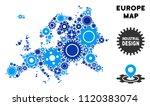 repair service europe map... | Shutterstock .eps vector #1120383074