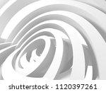 modern abstract geometric art...   Shutterstock . vector #1120397261