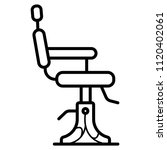 barber chair icon | Shutterstock .eps vector #1120402061