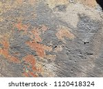 texture of rusty iron. aged... | Shutterstock . vector #1120418324