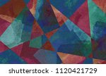 digital background art made... | Shutterstock . vector #1120421729
