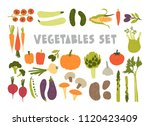 bundle of colorful hand drawn...   Shutterstock .eps vector #1120423409