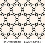 black and white seamless... | Shutterstock .eps vector #1120452467