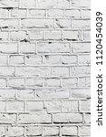 white brick wall | Shutterstock . vector #1120454039