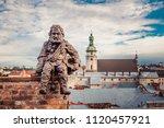lviv  ukraine   june 24  2018 ... | Shutterstock . vector #1120457921