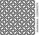 celtic monochrome seamless...   Shutterstock .eps vector #1120465274