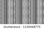 tribal vector ornament.... | Shutterstock .eps vector #1120468775
