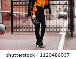 street  office  bright style.... | Shutterstock . vector #1120486037