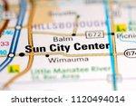 sun city center. florida. usa...   Shutterstock . vector #1120494014