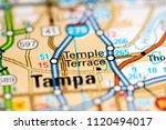 temple terrace. florida. usa on ...   Shutterstock . vector #1120494017