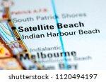 indian harbour beach. florida....   Shutterstock . vector #1120494197