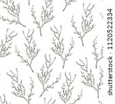 white watercolor seamless... | Shutterstock . vector #1120522334