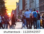 people standing in the middle...   Shutterstock . vector #1120542557